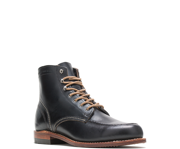 1000 Mile 1940 Boot, Black Leather