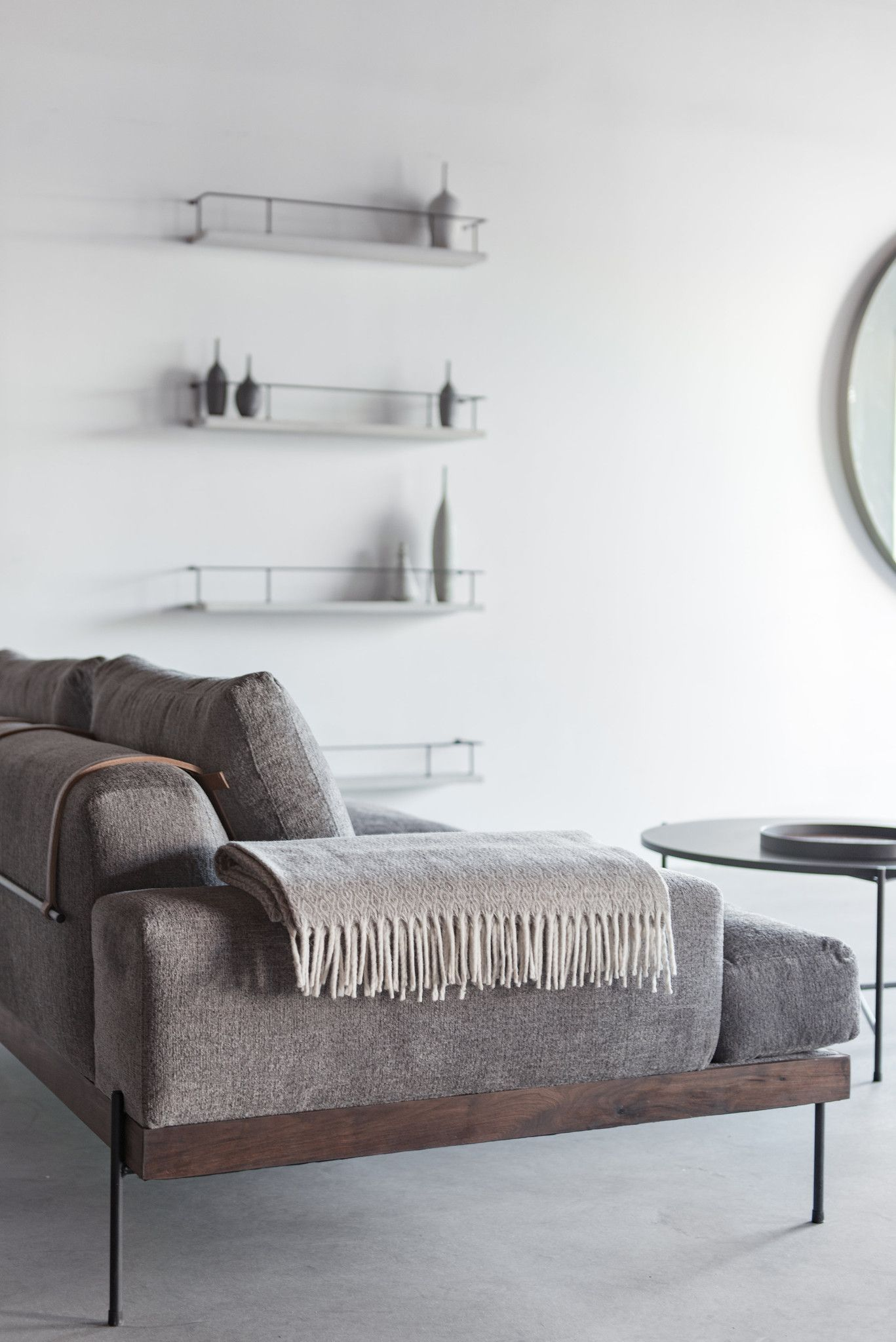 rivera sofa | industrial, woods and house