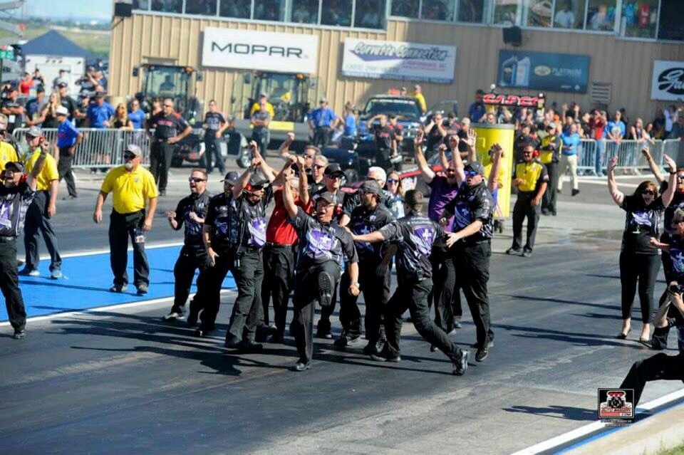 Jack Beckman & Team in the Infinite Hero T/F F/C WIN the Mile High Bandimere Speedway in Denver CO