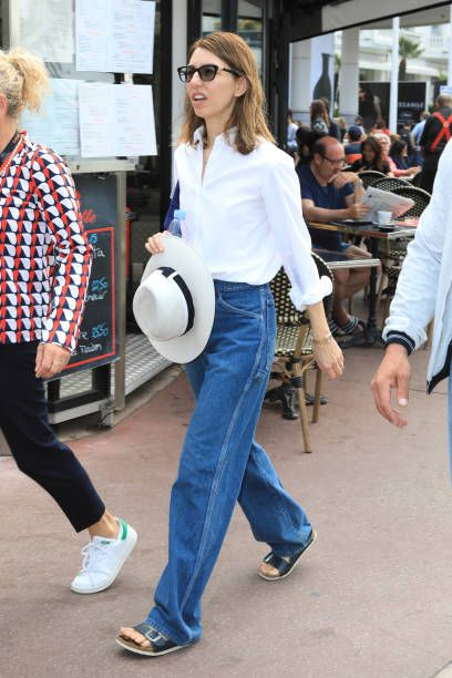 Sophia Coppola is spotted during the 70th annual Cannes Film Festival at on May 25 2017 in Cannes France