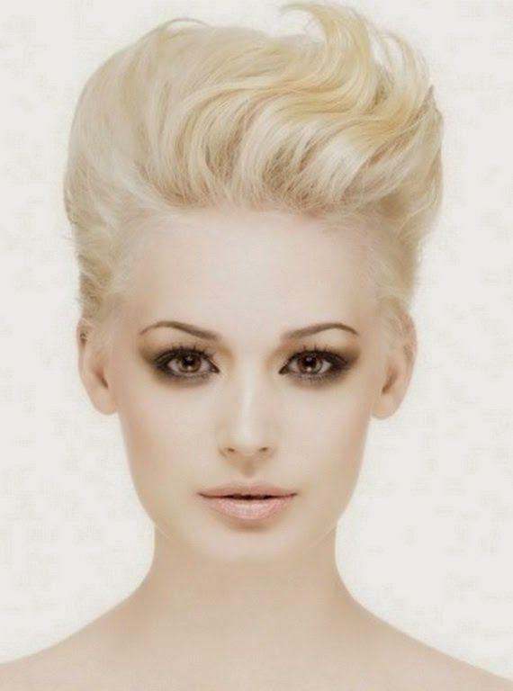 Modern Quiff hairstyle for Women 2015 | short hair styles