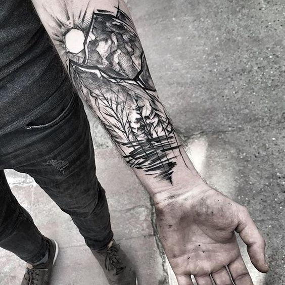 Für unterarm männer tattoos Tribal Tattoo