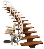 Best Csl500 Helix Curved Stair Lift The Next Generation Helix 400 x 300