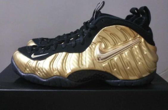 35039e28f33 Nike Air Foamposite Pro Metallic Gold Dropping This Fall