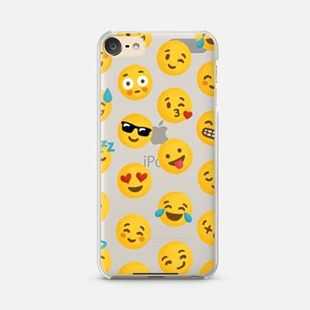 Ipod Touch 6 Case Emoji Love Transparent Case Nour Tohme Ipod Touch 6 Cases Case Bling Phone Cases