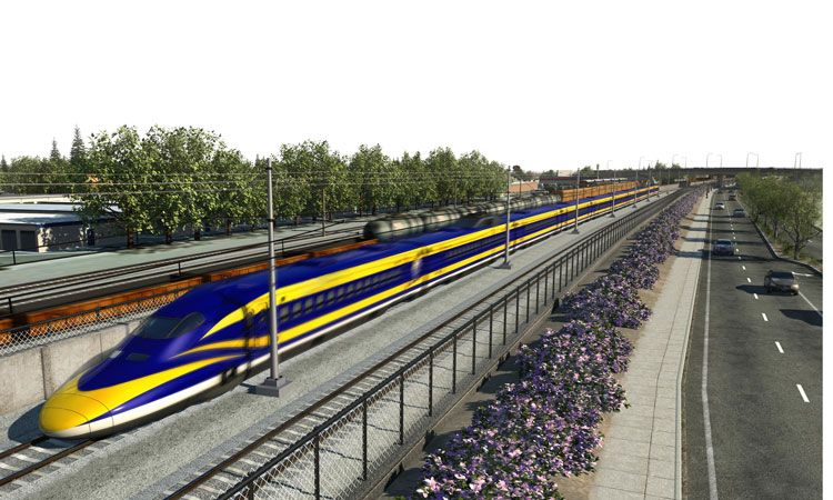 Highspeed rail in America Tracks to the future Railway