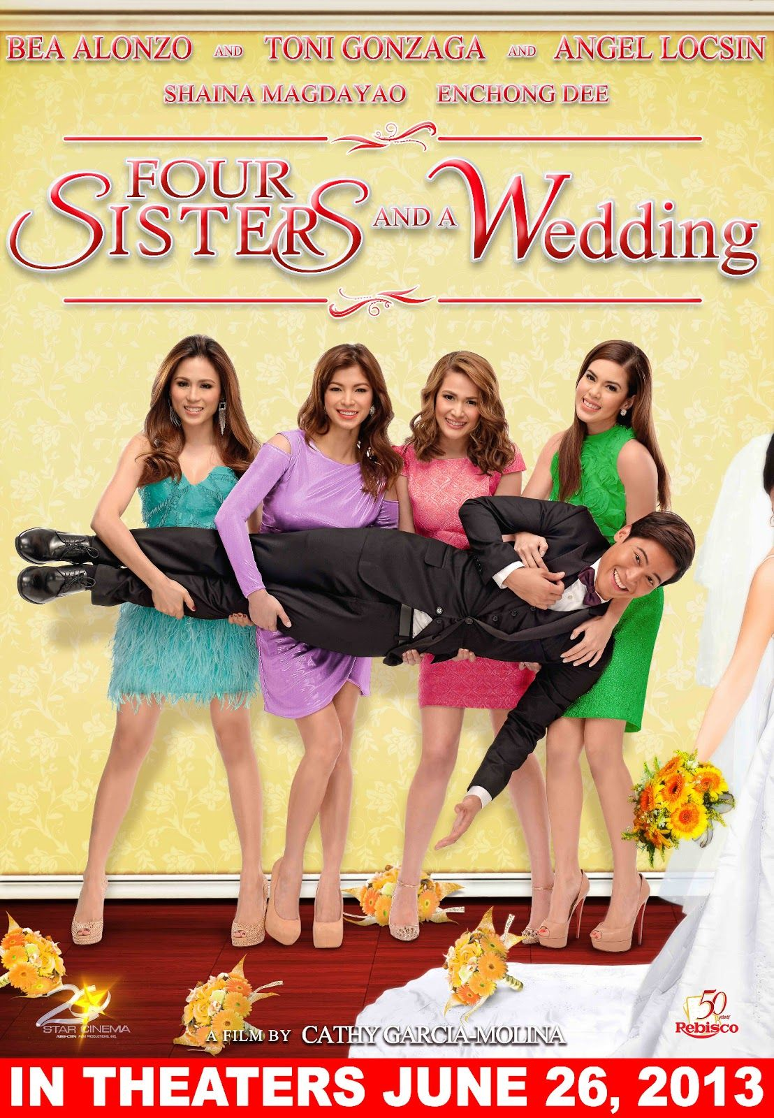 Four Sisters And A Wedding 26 07 2013 Pinoy Movies Four Sisters Wedding Movies