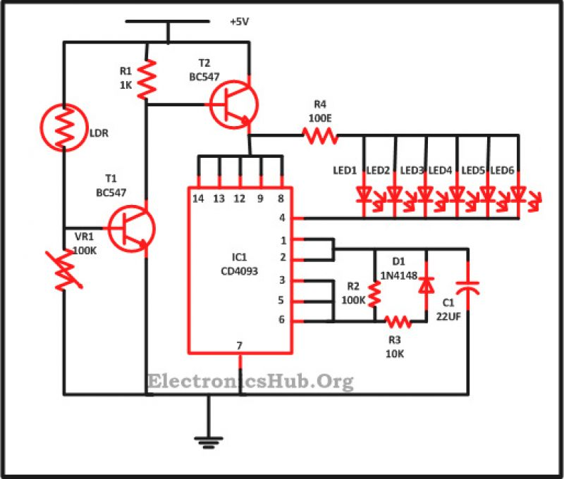 wiring diagram for led xmas lights  circuit diagram led
