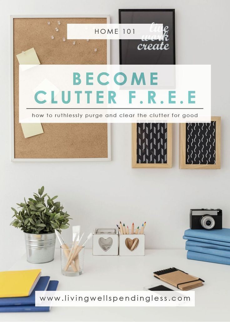 Tips To Become Clutter Free Home Management Organization