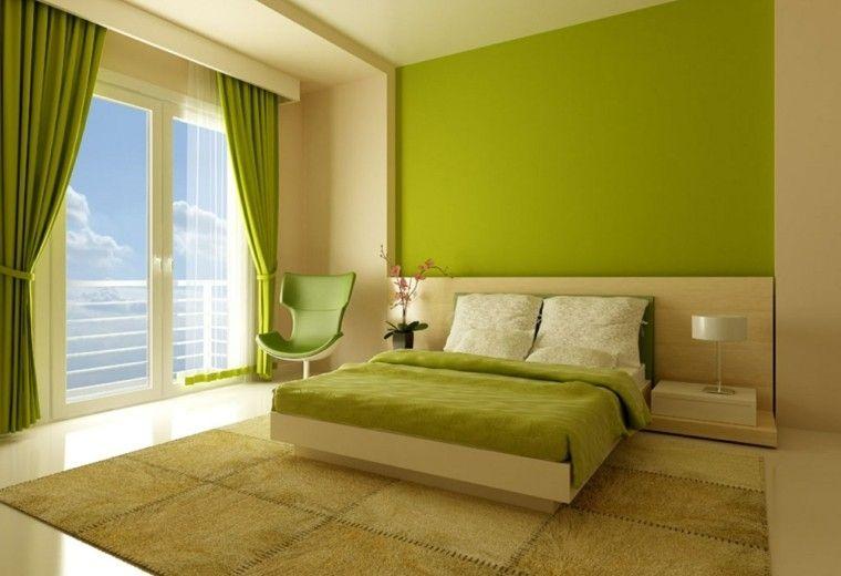 Combinaciones De Colores Para Las Paredes Del Dormitorio Colores Para Dormitorio Decoracion De Interiores Dormitorios