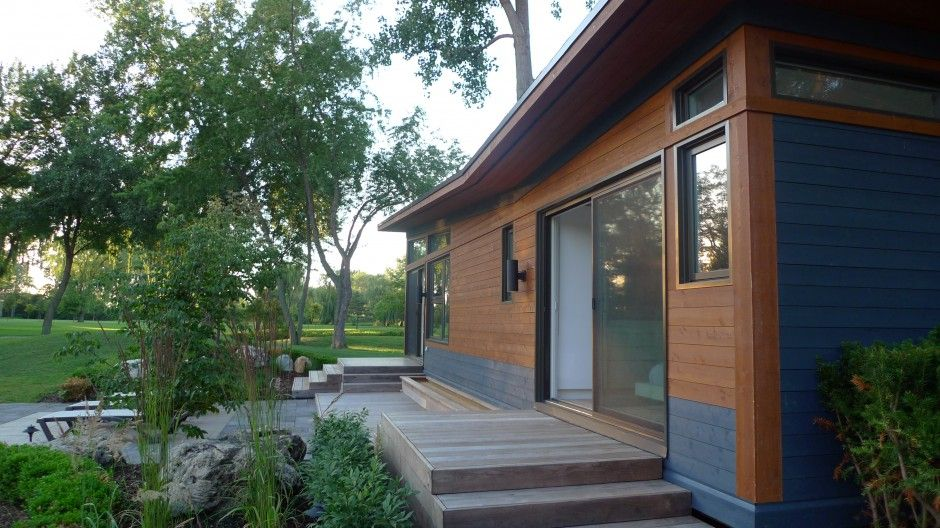 Solo 40 By Altius Architecture Modern Tiny House Prefab Homes Small Prefab Homes