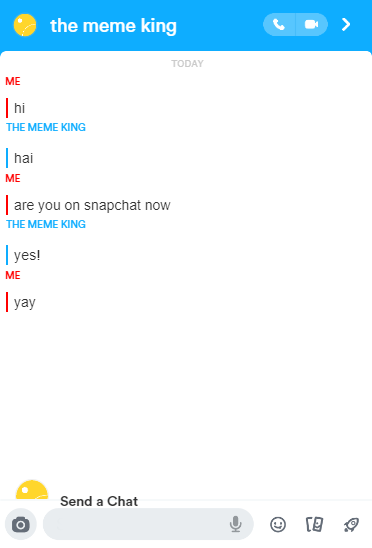 Chat fake app snapchat How to