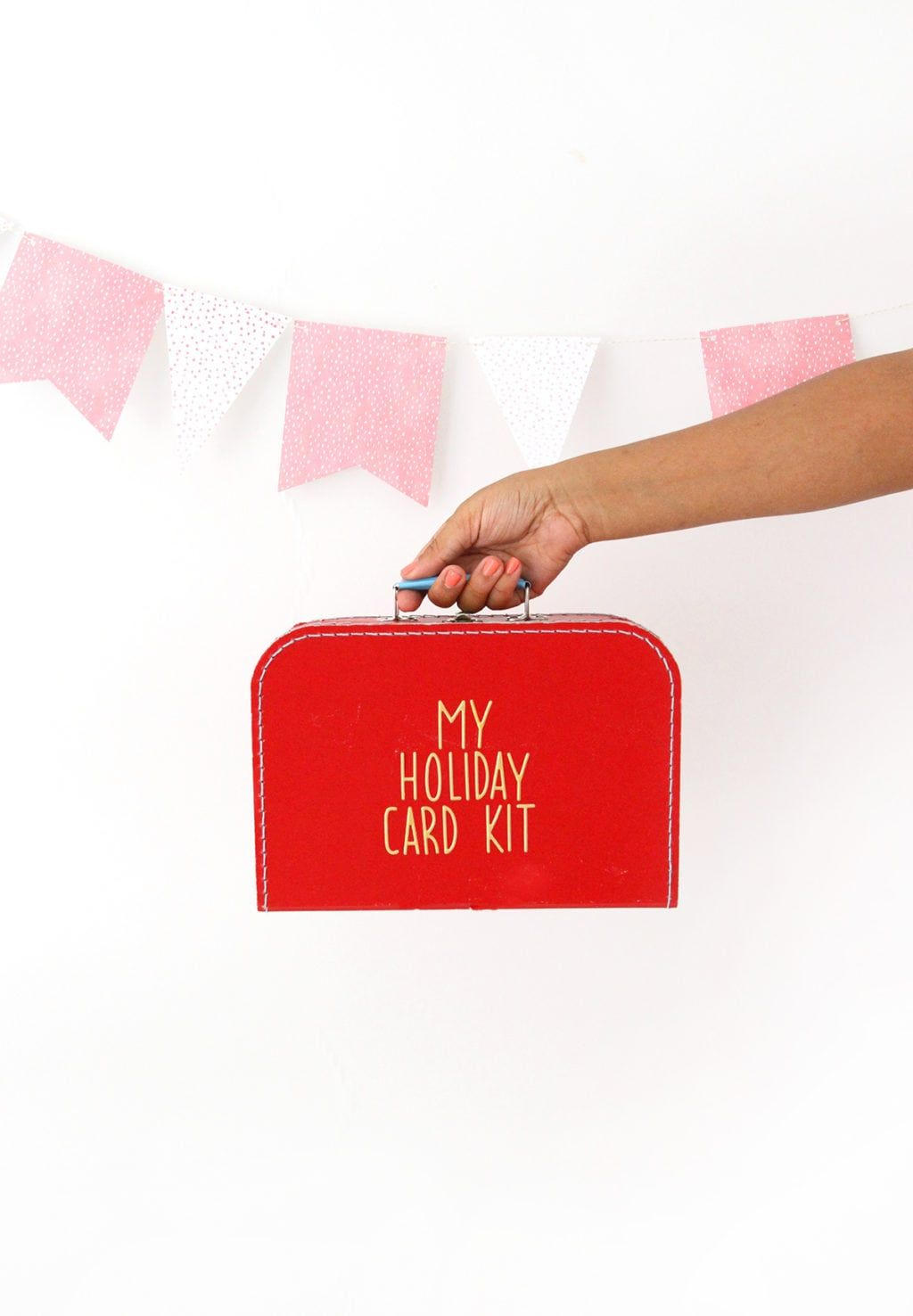 Make Your Own Holiday Card Kit (With images) | Diy holiday kits, Card kit, Diy holiday cards