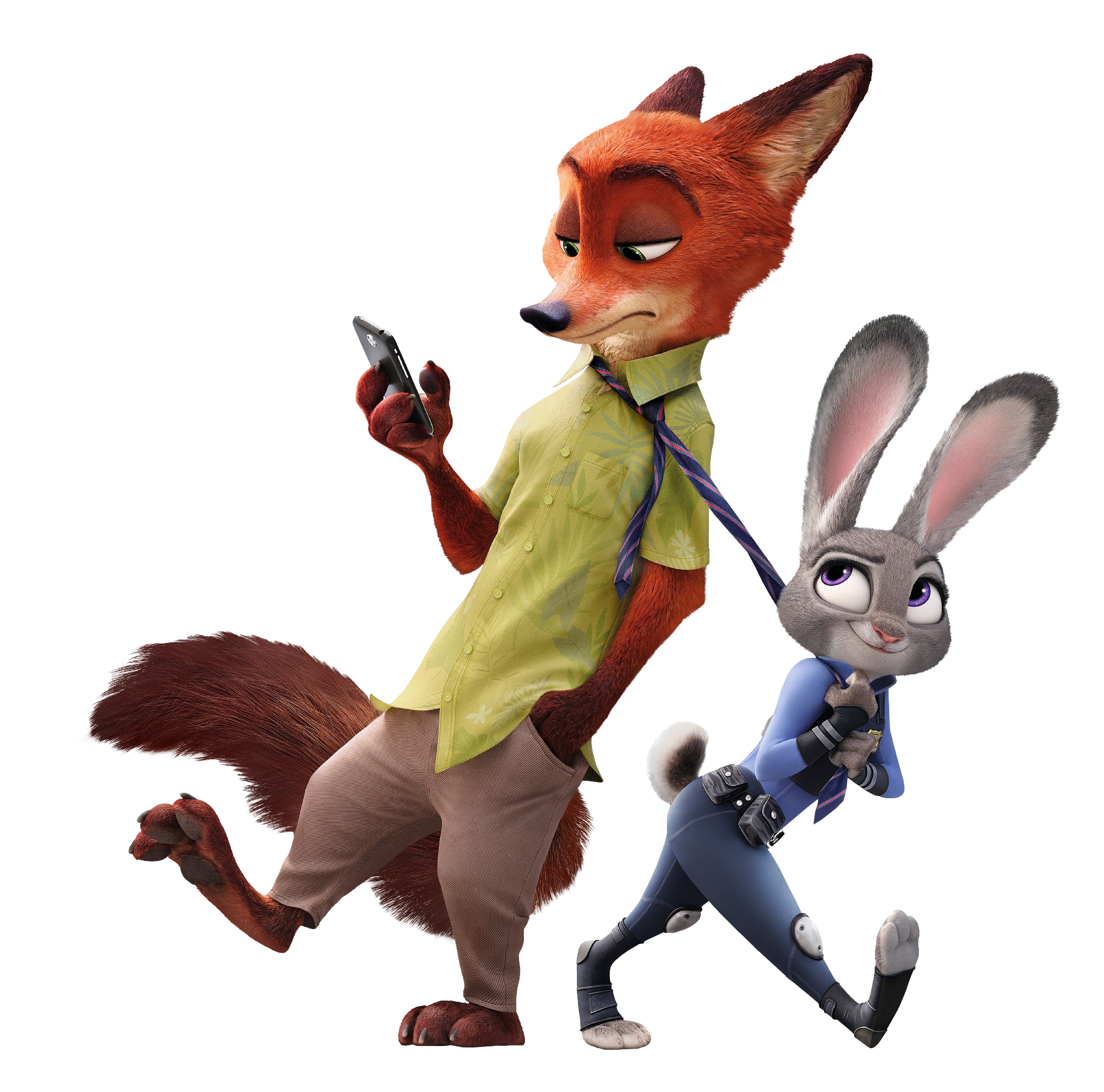 Judy Hopps And Nick Wilde Zootopia Gallery Yopriceville High Quality Images And Transparent Png Free Zootopia Anime Disney Zootopia Zootopia Nick And Judy