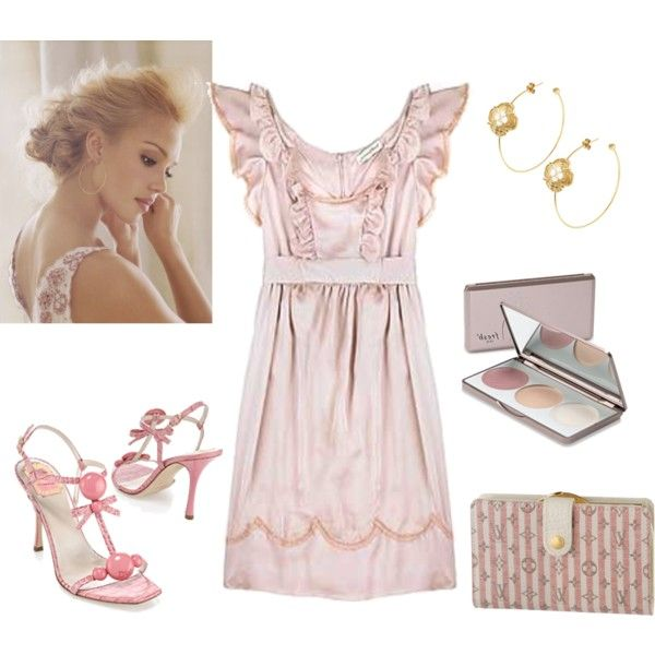 Feminine, created by freskababy on Polyvore | My Style | Pinterest