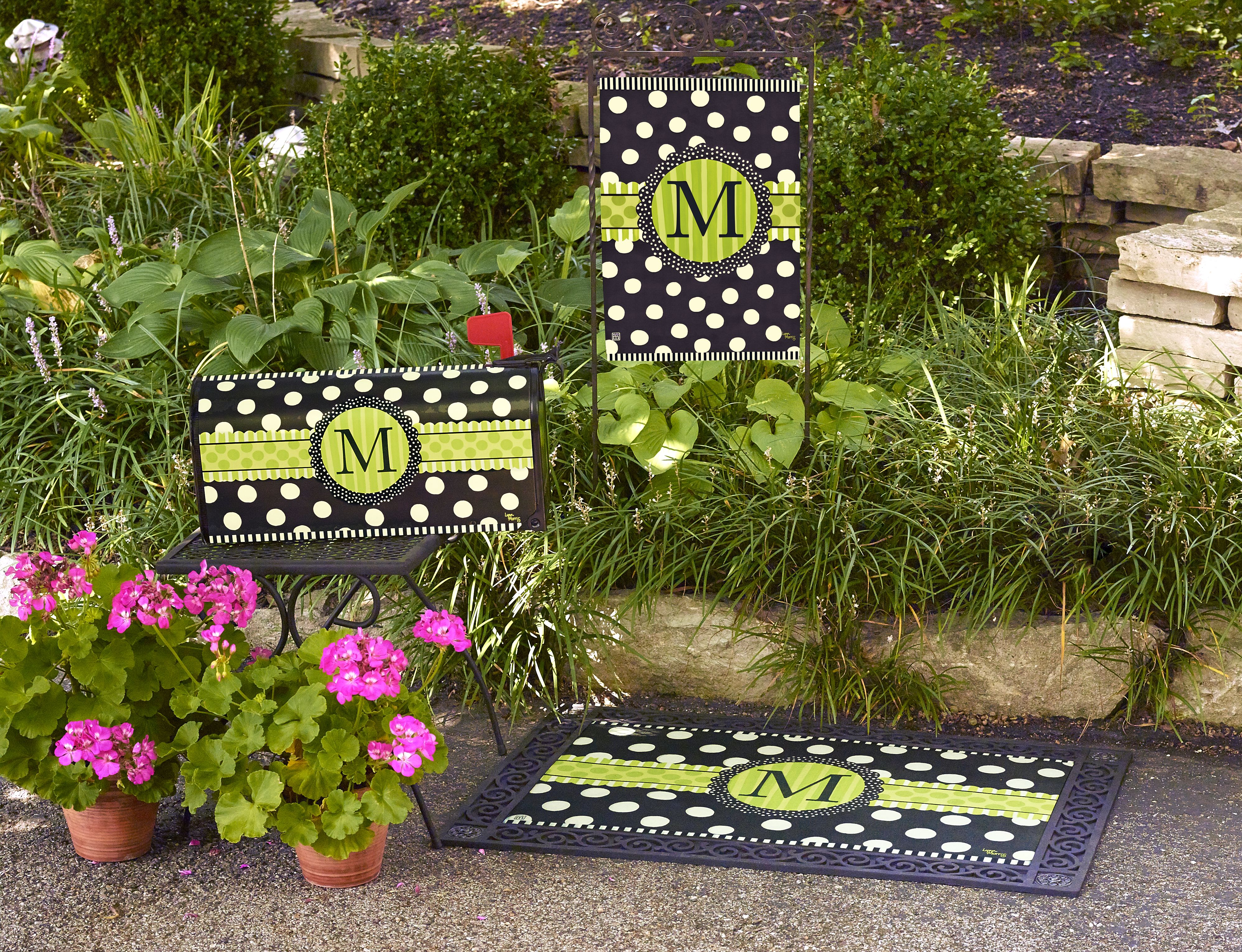 Studiom Is One Of The Top Outdoor Decor Companies Their Products Range From Decorative Flags Mats And Mailbox Covers To Ar Flag Decor Art Pole Garden Items