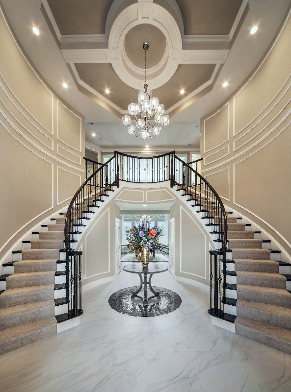 Foyer Stairs For Sale : Toll brothers reserve at northampton pa homes the mid