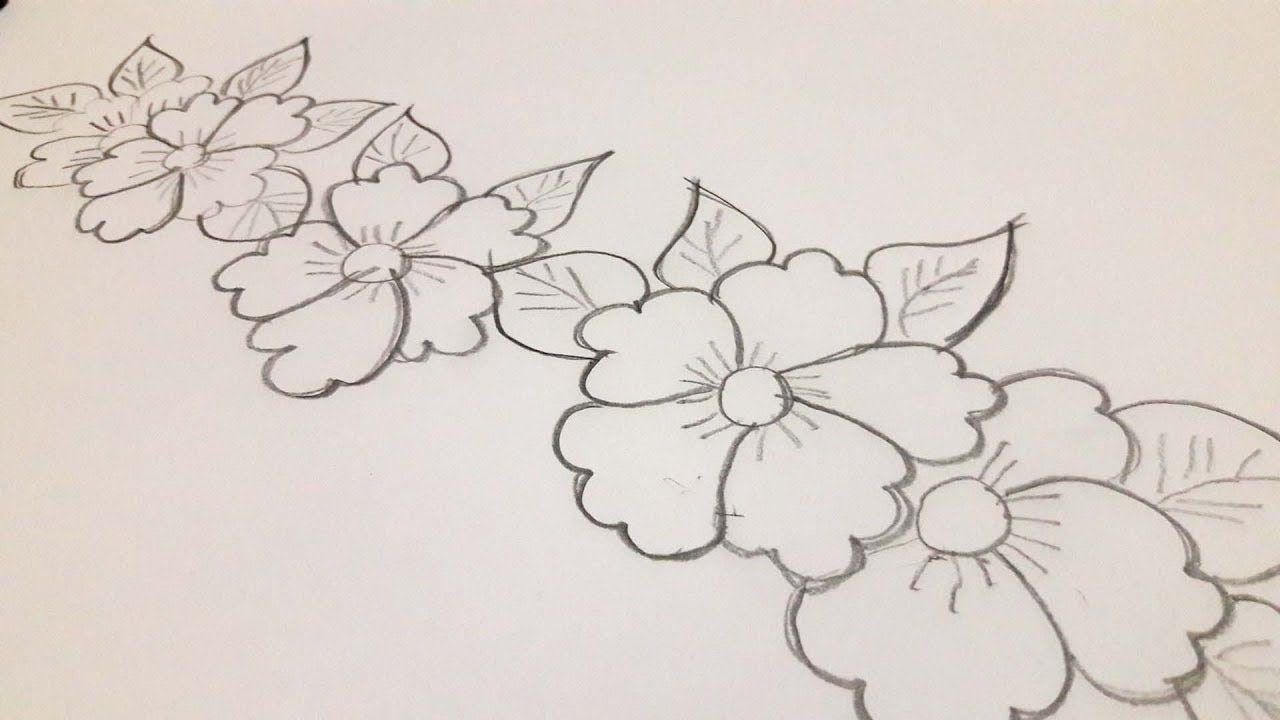 Nakshi Kantha Design Drawing Tutorial For Beginners