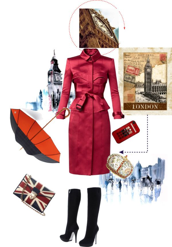 """LONDRES"" by alexarbrito on Polyvore"