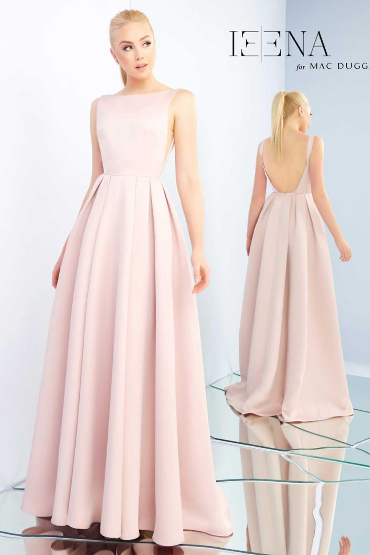 Выкройка для платья в пол с открытой спиной