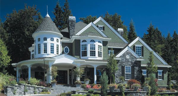 Astoria 3230 4 Bedrooms And 4 Baths The House Designers Victorian House Plans Modern Victorian Homes Victorian Homes