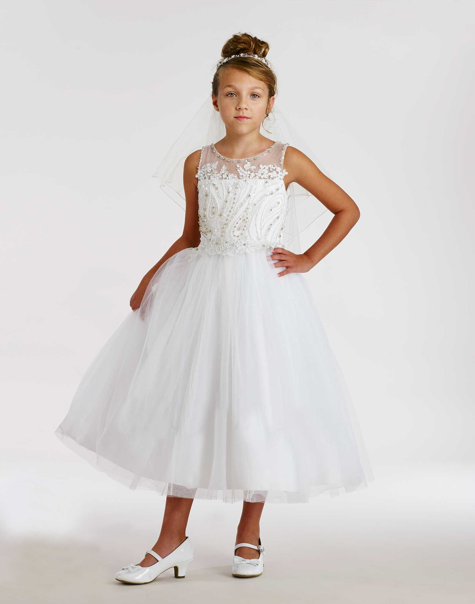 Macis couturedesigner girls dress style t embroidered tulle