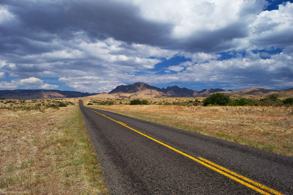 Highway 118 west of Fort Davis