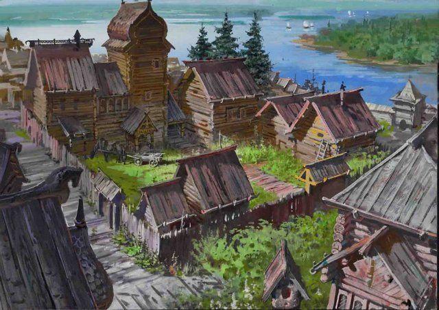 viking drawing