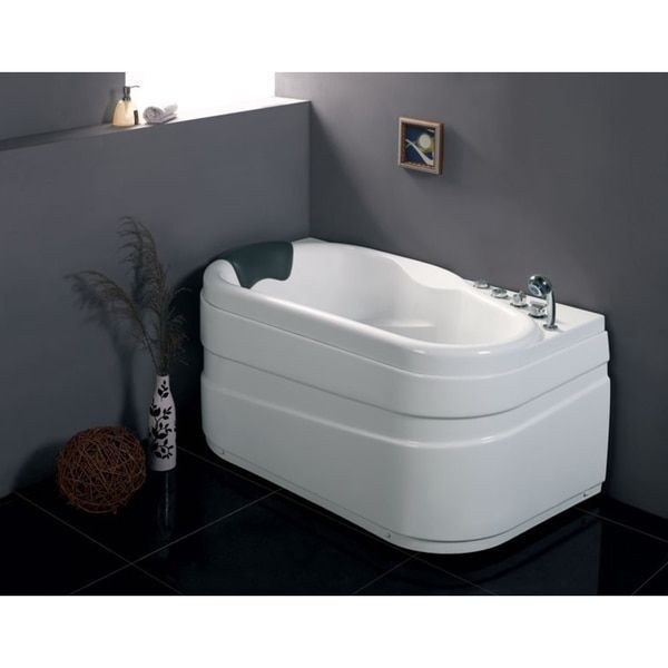 EAGO AM175 R White Acrylic 5 Foot Whirlpool Bathtub | Overstock.com Shopping