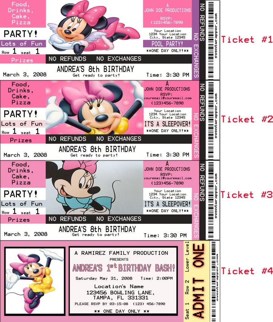 Minnie Mouse Party Ideas For 2nd Birthday Custom Minnie Mouse