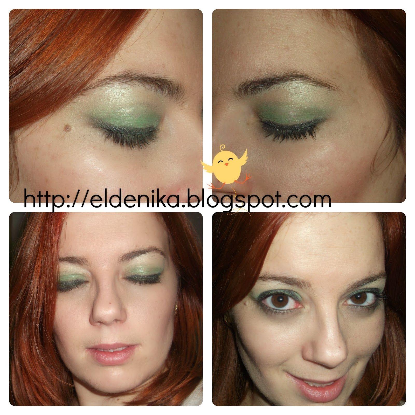 Smokey Eyes en verde  http://eldenika.blogspot.com.es/2014/01/mi-primer-reto-smokey-eyes-iii.html