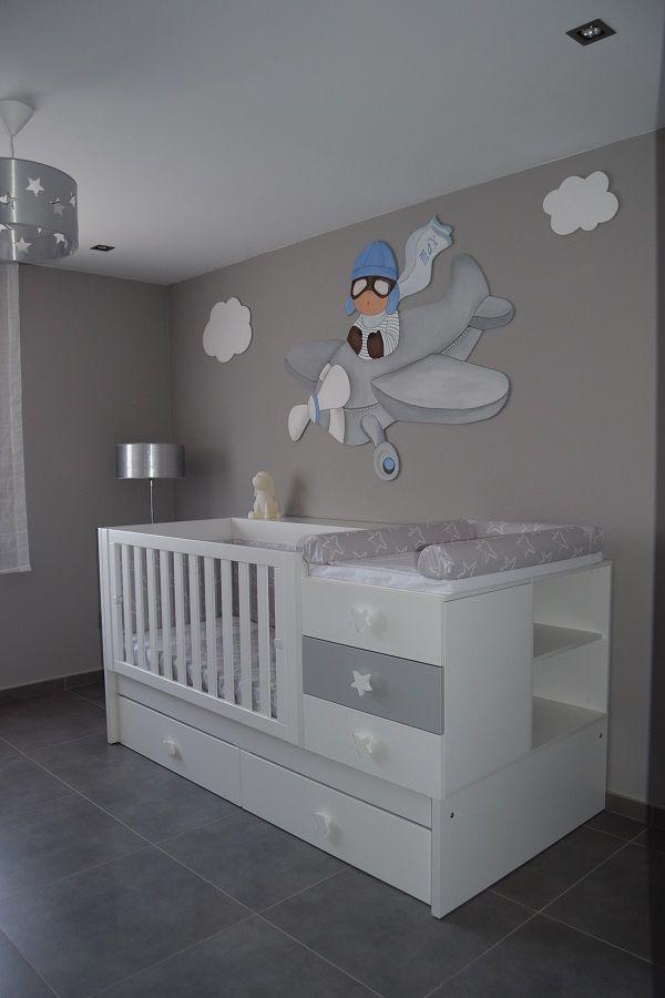 Qu bonita ha quedado la habitaci n de max con la cuna - Armarios para habitacion nina ...