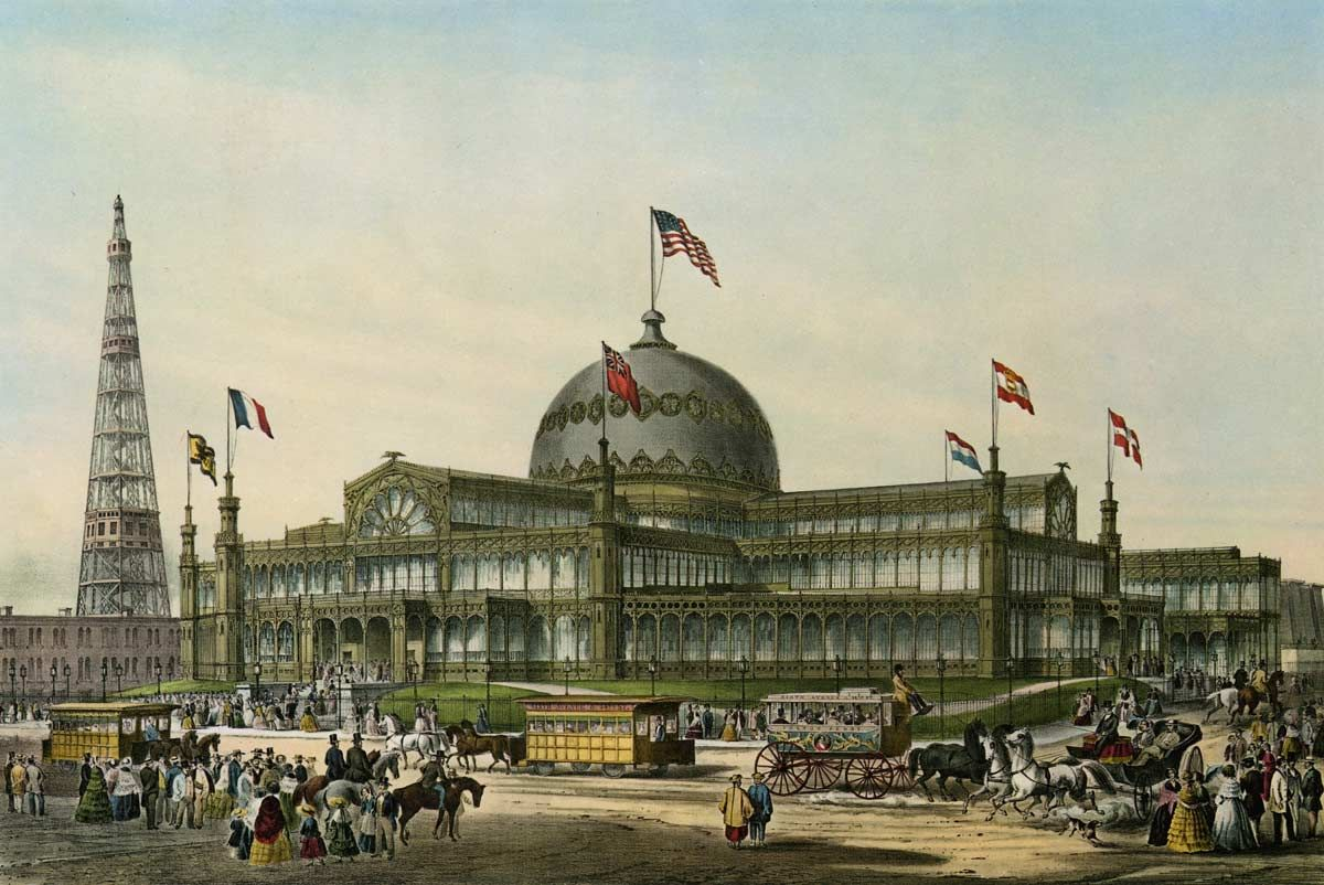 The textile blog the new york crystal palace exhibition of 1853 the textile blog the new york crystal palace exhibition of 1853 19th century pinterest crystal palace jeuxipadfo Gallery