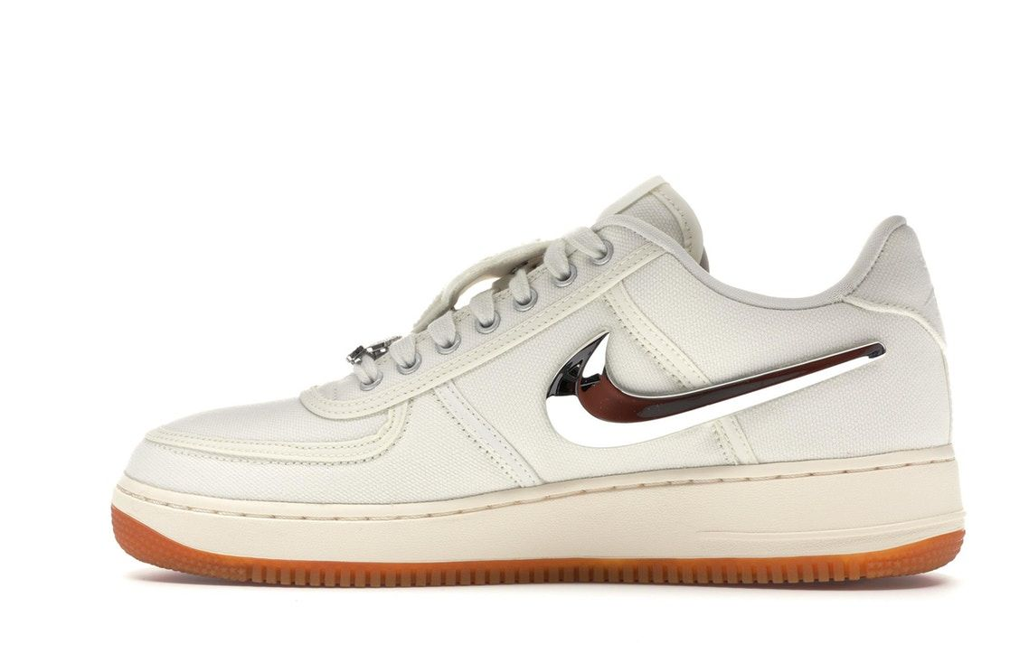 Nike Air Force 1 Low Travis Scott Sail Con Imagenes