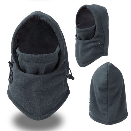 Cyclist Birthday Xmas Gift One Size Fleece Winter Neck Warmer Snood Scarf Hat