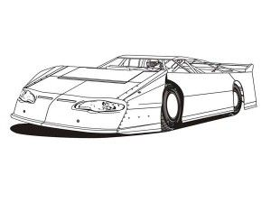 Three Different Race Car Coloring Page Race Car Coloring Pages Cars Coloring Pages Nascar