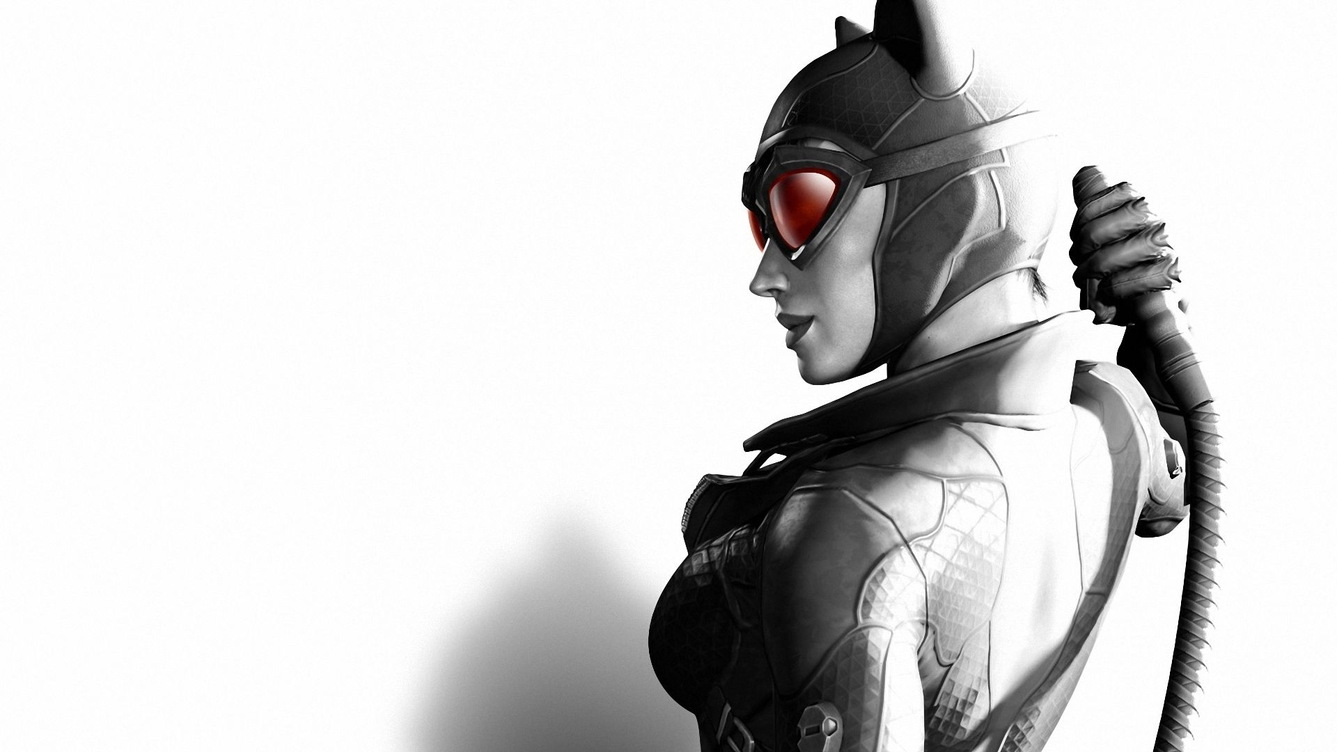 batman arkham city, girl, cat - http://www.wallpapers4u/batman