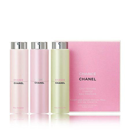 7ede454b CHANCE Twist & Spray Travel Trio - CHANEL | Sephora | *wish list* in ...