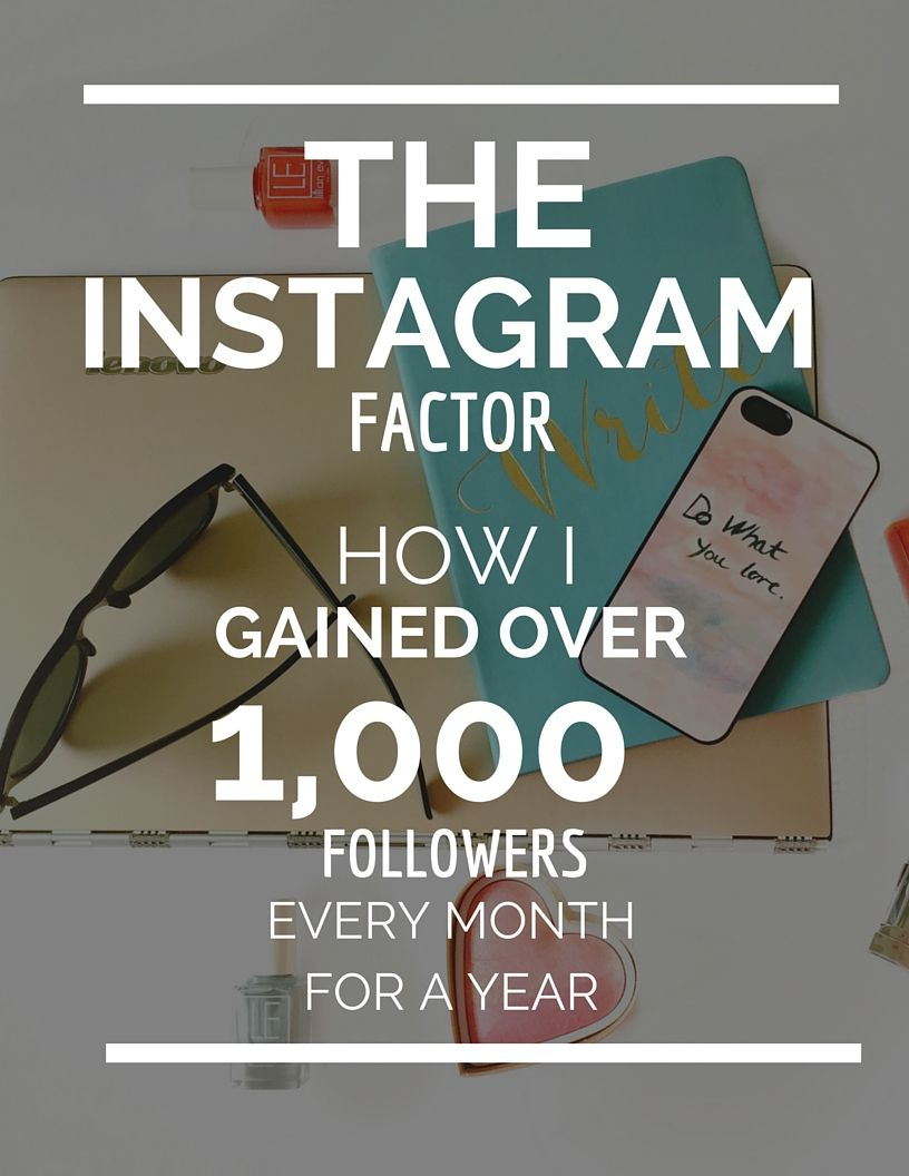 How I quadrupled my Instagram following! Learn how I went from under 4,000 to over 15,000 Instagram followers in under a year. This free guide will teach you my strategies for growing your Instagram and create a more engaged following.