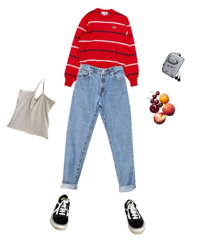 """""""Unbenannt #330"""" by luisaxx ❤ liked on Polyvore featuring Lacoste, Levi's, Vans and Sony"""