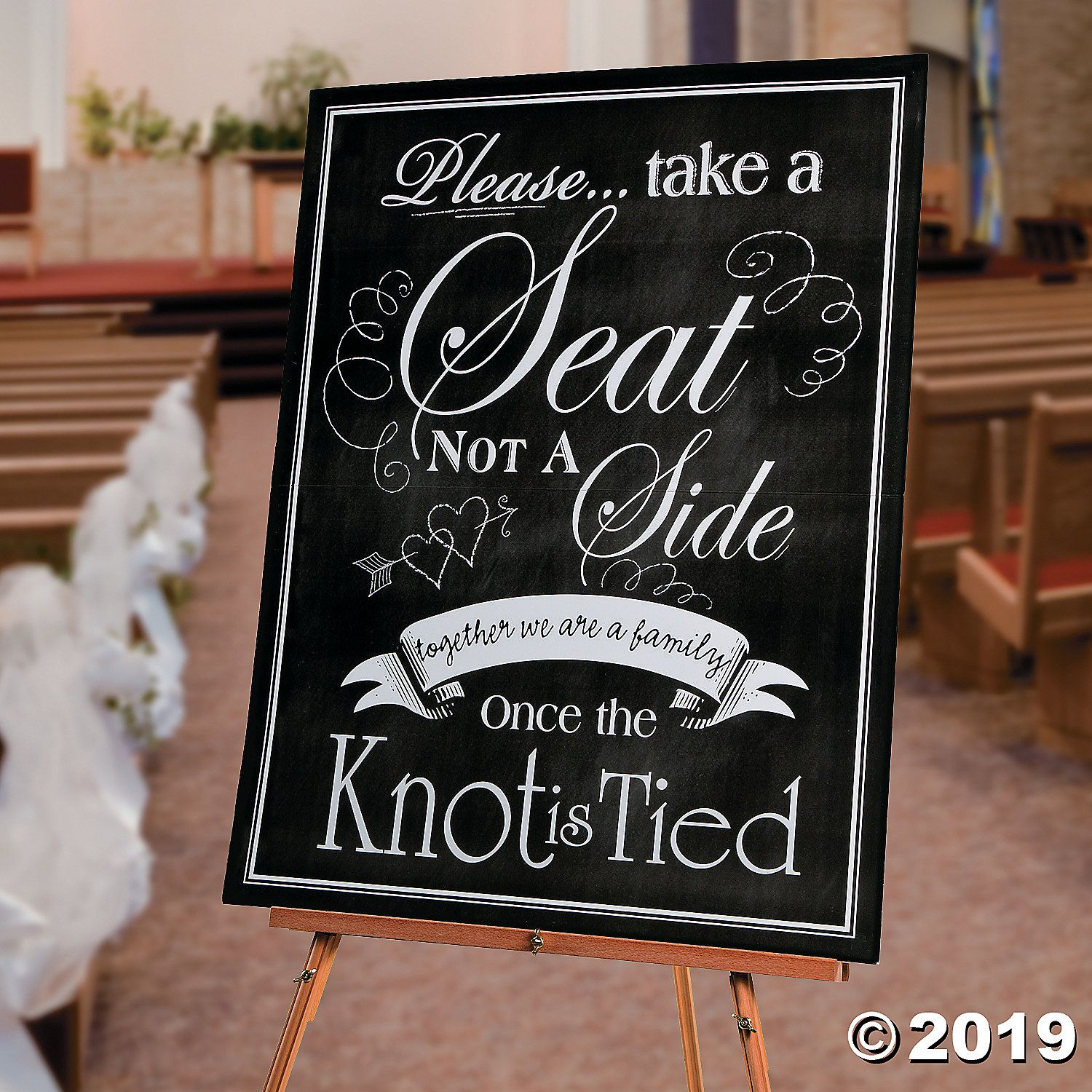 Ceremony Seating Reception: Wedding Seating Chart Sign