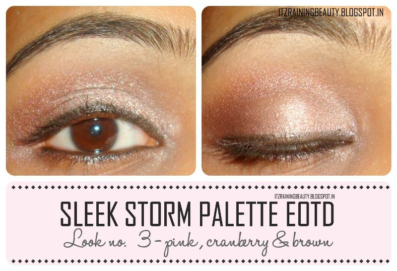 sleek storm palette neutral look - step by step tutorial