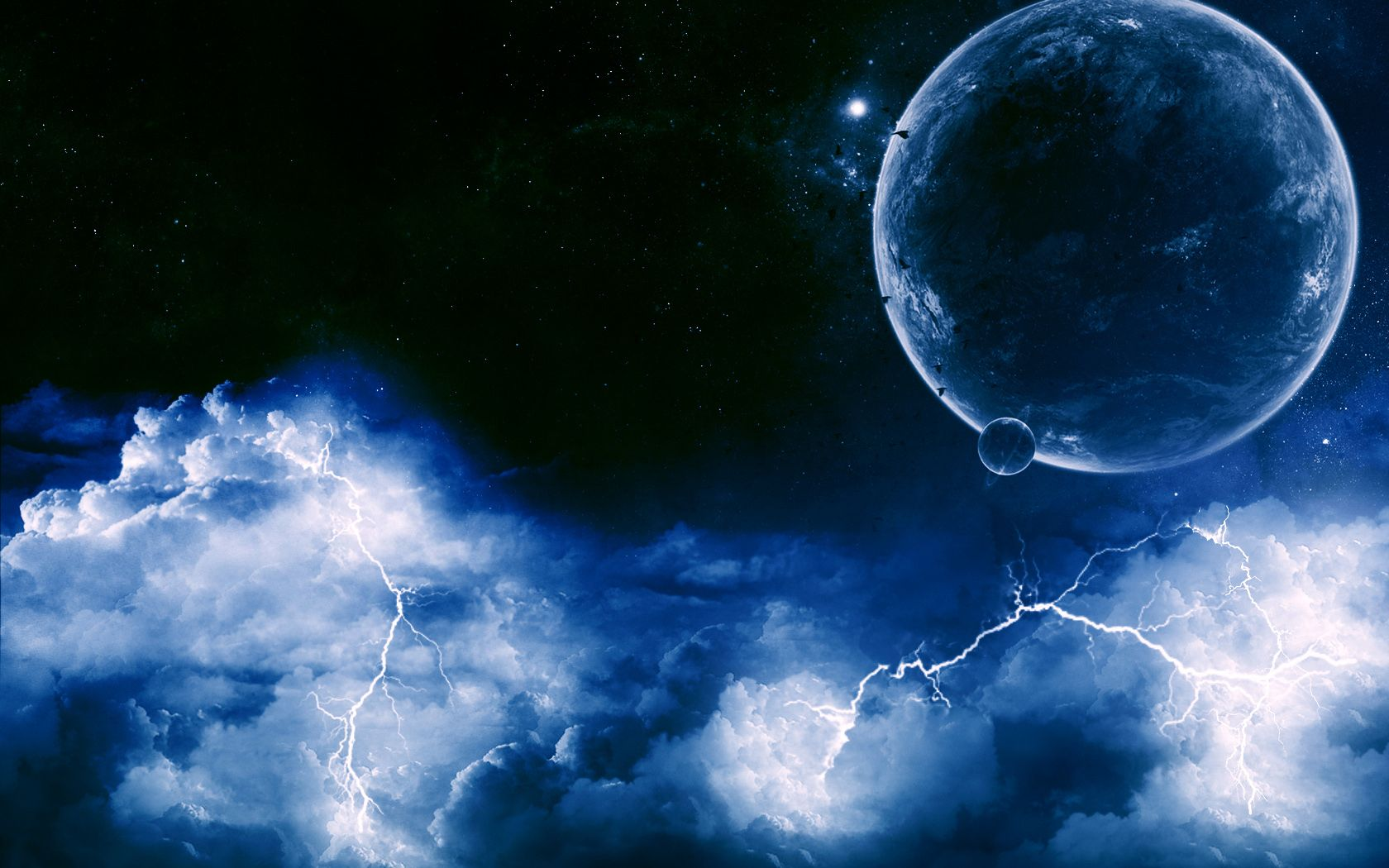 Free Amazing Lightning HD Wallpapers TechLovers l Web Design
