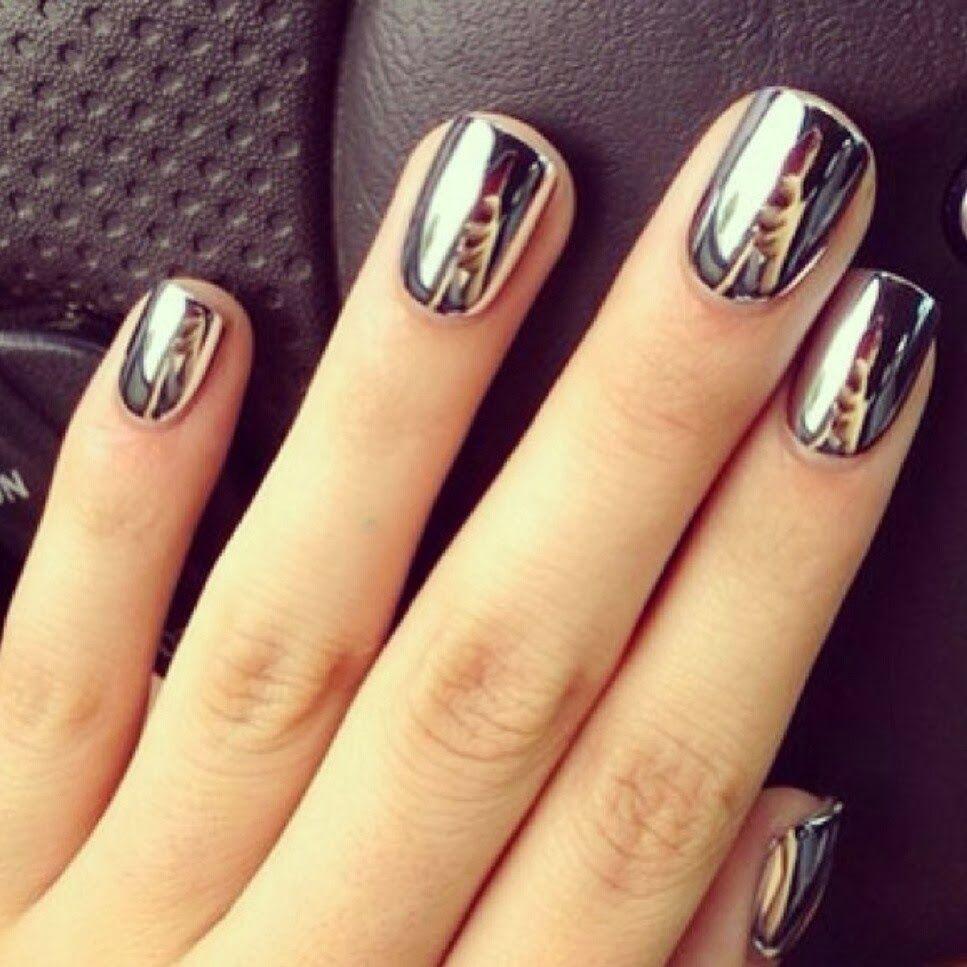 uñas metalicas - Buscar con Google | nails decorate | Pinterest ...