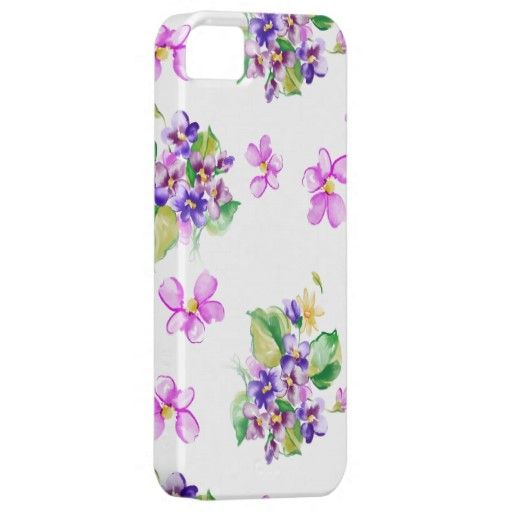 Colorful Blooms Floral iPhone 5 Case by Graphic Allusions $44.95 #iphone5