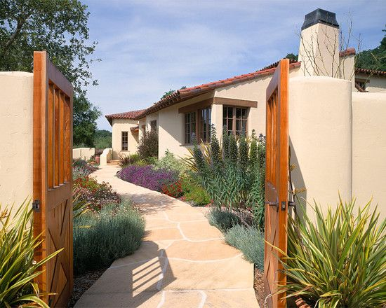 Southwestern landscape design pictures remodel decor - Southwestern home design and remodeling ...
