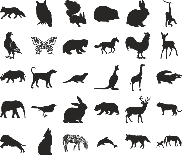 download icon animals svg eps png psd ai vector color free