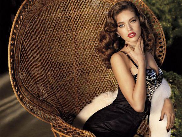 Beautiful brunette model emily didonato modeling for guess by beautiful brunette model emily didonato modeling for guess ccuart Gallery