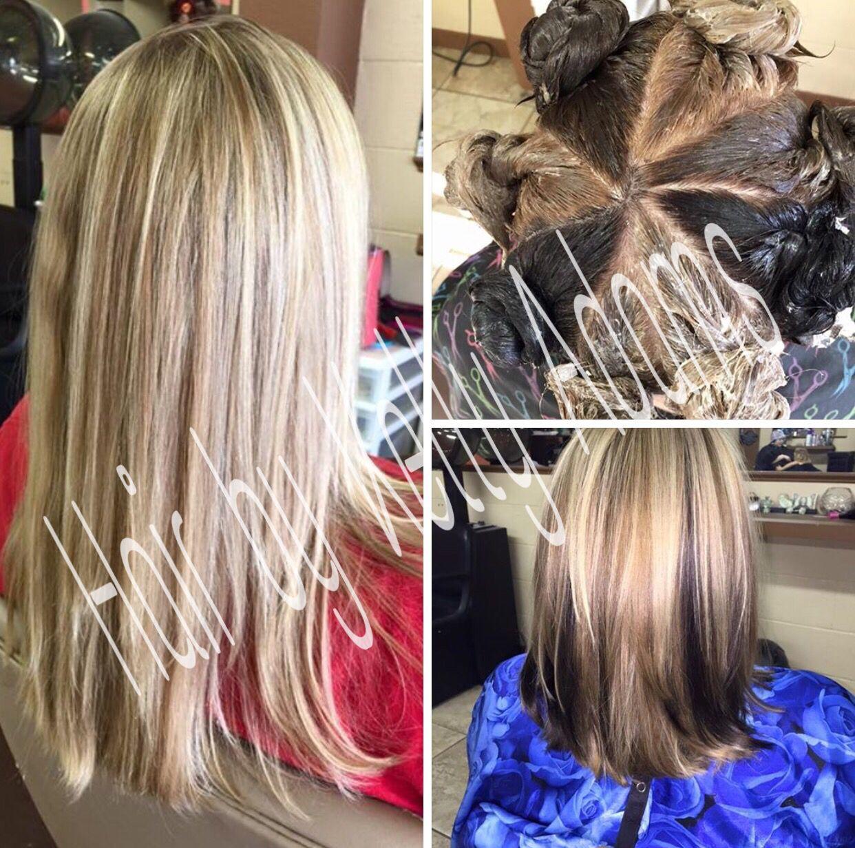 Pinwheel Chunky Colors By Kelly Adams Hair By Kelly Adams