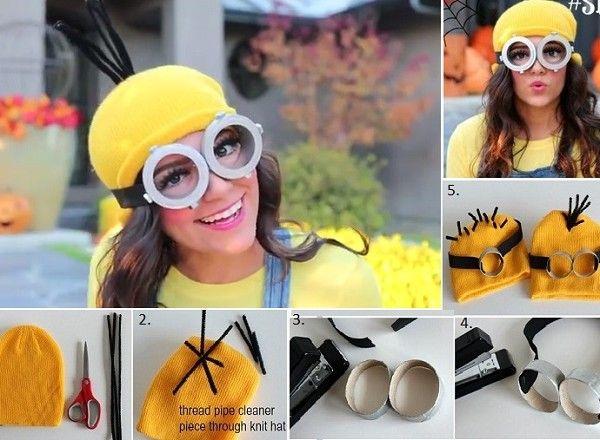 Despicable Me Minion Crochet Hat Pattern. Diy Minion CostumeCostume ...  sc 1 st  Pinterest & Despicable Me Minion Crochet Hat Pattern | Diy minion costume ...